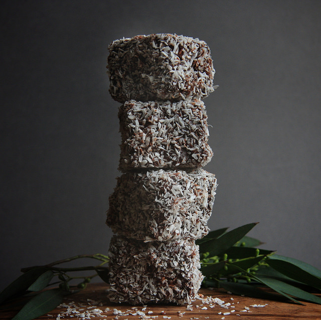 Ladyland lamingtons stack